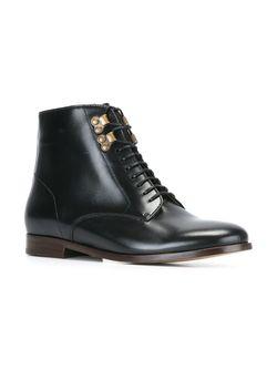 Ботинки На Шнуровке A.P.C.                                                                                                              чёрный цвет