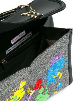 Декорированная Сумка-Тоут Olympia Le-Tan                                                                                                              чёрный цвет