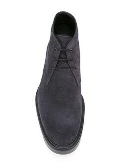 Ботинки На Шнуровке Hogan                                                                                                              серый цвет
