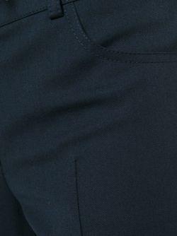 Расклешенные Брюки Akris                                                                                                              синий цвет