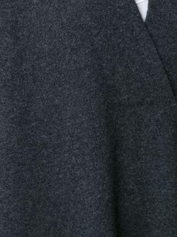 Свитер Свободного Кроя C V-Образным Вырезом Vince                                                                                                              серый цвет