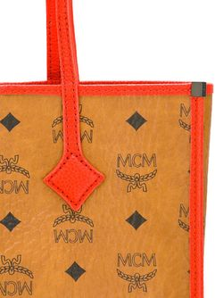 Сумка-Шопер С Логотипом MCM                                                                                                              коричневый цвет
