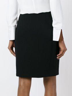 Юбка-Карандаш Alaïa Vintage                                                                                                              черный цвет