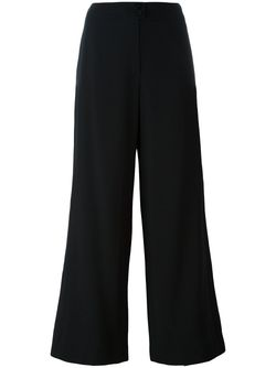 Укороченные Брюки Chanel Vintage                                                                                                              черный цвет
