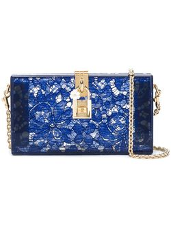 Клатч-Бокс Dolce Dolce & Gabbana                                                                                                              синий цвет