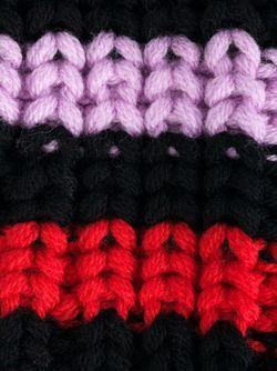 Длинные Митенки В Полоску Sonia Rykiel                                                                                                              многоцветный цвет