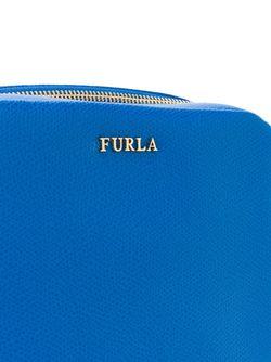 Сумка На Плечо С Цепочной Лямкой Furla                                                                                                              синий цвет