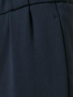 Укороченные Брюки Brunello Cucinelli                                                                                                              синий цвет