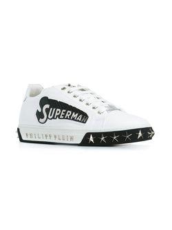 Кеды Superman Philipp Plein                                                                                                              белый цвет