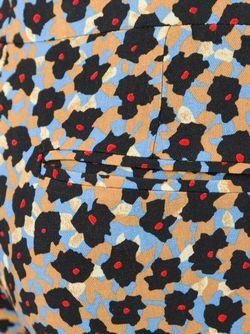 Укороченные Брюки С Абстрактным Принтом Etro                                                                                                              черный цвет