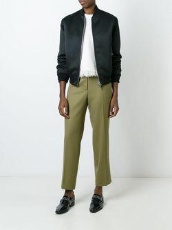 Укороченные Брюки Chanel Vintage                                                                                                              зелёный цвет