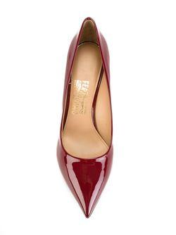 Туфли Susi Salvatore Ferragamo                                                                                                              красный цвет