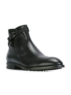 Ботинки На Шнуровке Tod'S                                                                                                              чёрный цвет