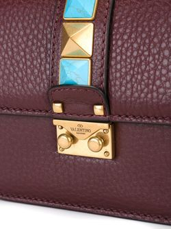 Маленькая Сумка На Плечо Glam Lock Valentino                                                                                                              красный цвет