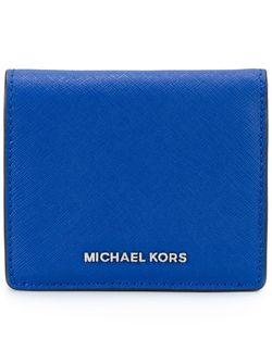 Складной Кошелек Michael Michael Kors                                                                                                              синий цвет