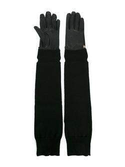Длинные Перчатки Twin-set                                                                                                              чёрный цвет