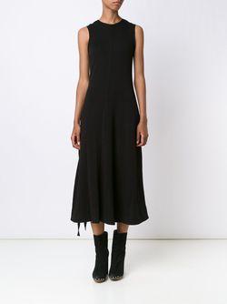 Расклешенное Платье Proenza Schouler                                                                                                              черный цвет