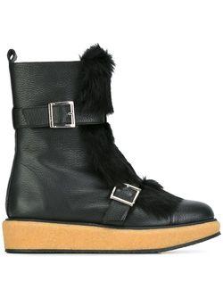 Короткие Сапоги Nevada С Ремешками Paloma Barceló                                                                                                              чёрный цвет