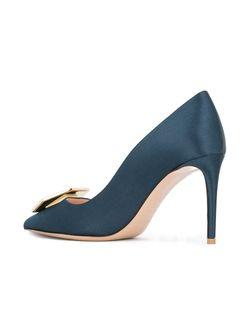 Туфли Eden Nicholas Kirkwood                                                                                                              синий цвет