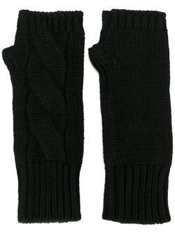 Трикотажные Митенки Dolce & Gabbana                                                                                                              чёрный цвет