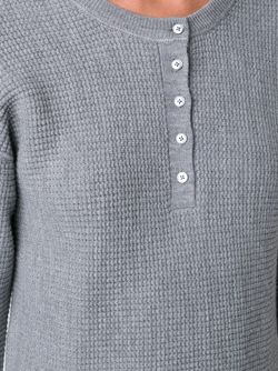 Джемпер Вафельной Вязки T By Alexander Wang                                                                                                              серый цвет