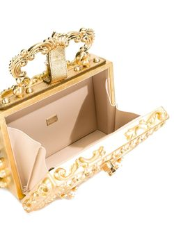 Клатч В Стиле Барокко Dolce & Gabbana                                                                                                              серебристый цвет