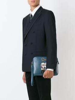 Клатч Cowboys Dolce & Gabbana                                                                                                              синий цвет
