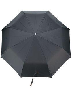 Зонт С Ручкой В Виде Черепа Alexander McQueen                                                                                                              чёрный цвет