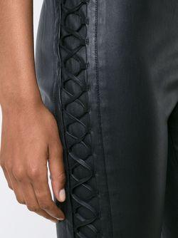 Лосины С Декоративной Шнуровкой Haider Ackermann                                                                                                              чёрный цвет