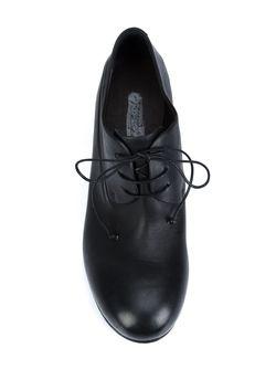 Туфли На Шнуровке Cetriolino Marsell                                                                                                              черный цвет