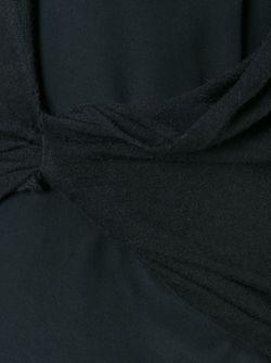Топ С Драпировкой Rick Owens Lilies                                                                                                              черный цвет