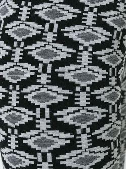 Леггинсы С Узором Laneus                                                                                                              чёрный цвет
