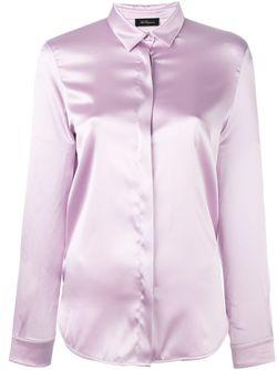 Рубашка С Потайной Застежкой Спереди Les Copains                                                                                                              розовый цвет