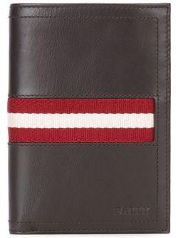 Классический Бумажник Bally                                                                                                              коричневый цвет