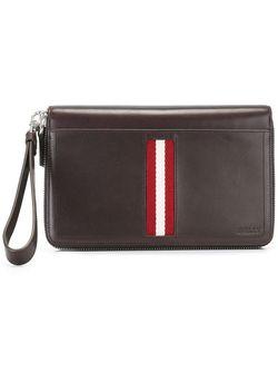 Бумажник На Молнии Bally                                                                                                              коричневый цвет