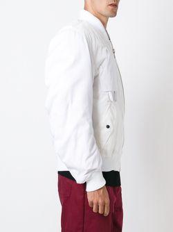 Куртка-Бомбер Mechanic LIAM HODGES                                                                                                              белый цвет