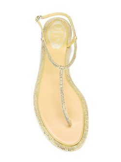 Сандалии Luminous Rene' Caovilla                                                                                                              желтый цвет