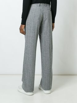 Брюки Прямого Кроя Calvin Klein Collection                                                                                                              серый цвет