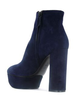Ботинки На Платформе Casadei                                                                                                              синий цвет