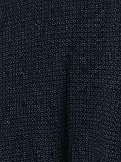Футболка-Поло С Контрастным Принтом Etro                                                                                                              синий цвет