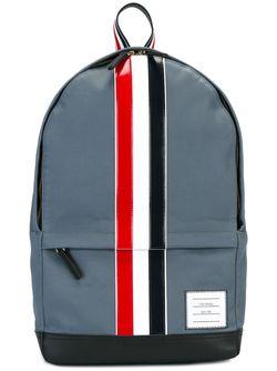 Рюкзак С Полосами Thom Browne                                                                                                              синий цвет
