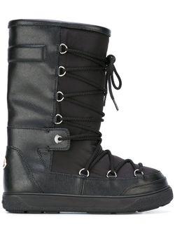 Зимние Ботинки Laetitia Stivale Moncler                                                                                                              чёрный цвет