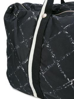 Дорожная Сумка Chanel Vintage                                                                                                              чёрный цвет