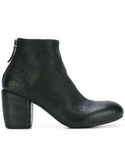 Ботинки По Щиколотку На Массивном Каблуке Marsell                                                                                                              черный цвет