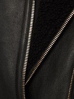 Байкерская Куртка Balmain                                                                                                              чёрный цвет