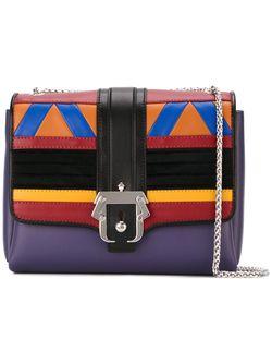 Сумка На Плечо Дизайна Колор-Блок Paula Cademartori                                                                                                              многоцветный цвет