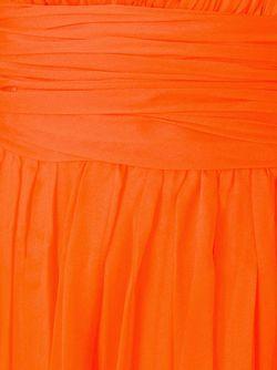 Длинное Платье С V-Образным Вырезом Fausto Puglisi                                                                                                              желтый цвет