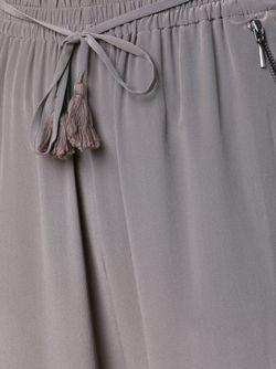 Брюки С Поясом Elie Tahari                                                                                                              серый цвет