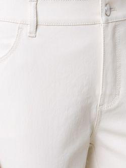 Брюки Кроя Слим Lafayette 148                                                                                                              белый цвет