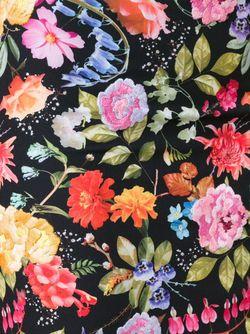 Юбка С Цветочной Вышивкой Nicole Miller                                                                                                              чёрный цвет